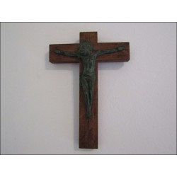 Crucifix bronze Debrie
